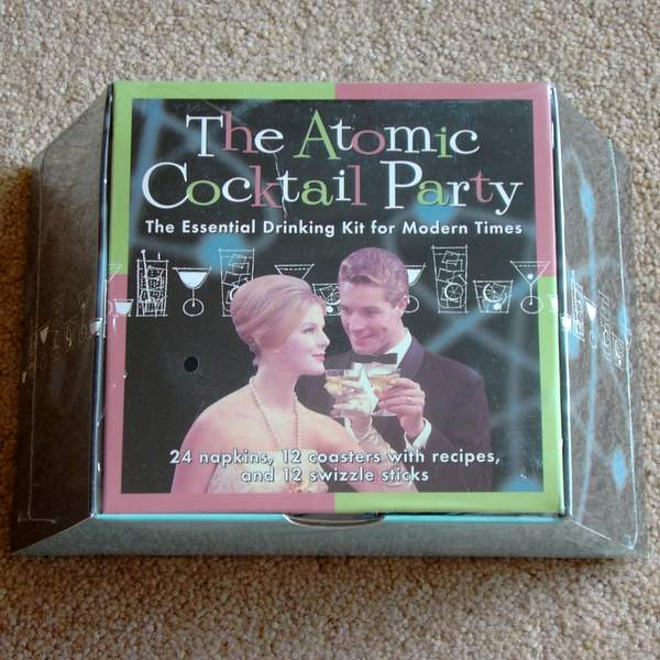 Last Gasp Atomic Cocktail Set