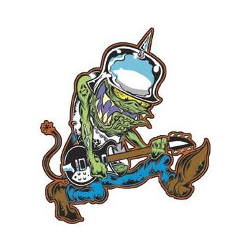 Poster Pop Dirty Donny Bucket Head Sticker DDS09