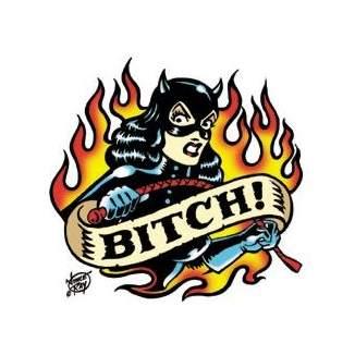 Poster Pop Vince Ray Bitch Sticker VRS02