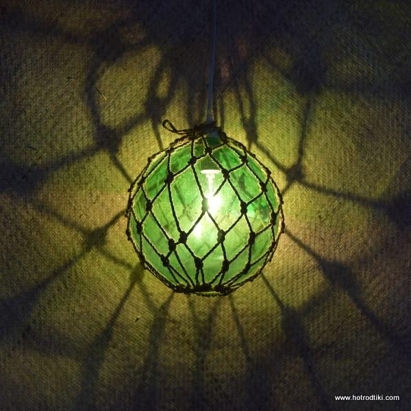 Green Fish Float Lamp 3