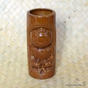 Vintage DW114 Brown Tiki Mug 1