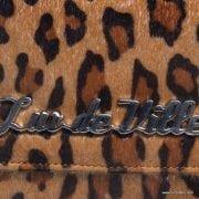 Lux De Ville Black Dahlia Brown Leopard Wallet 4-001