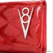 Lux De Ville Hot Rod Red Venom Wallet 2-001
