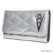 Lux De Ville Hot Rod Silver Wallet 1-001